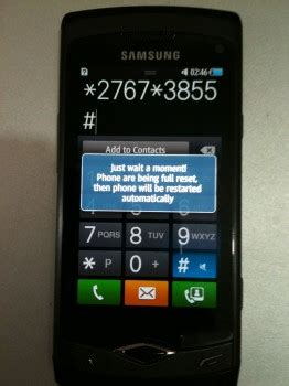 reset samsung wave want to hard reset the samsung wave here s how