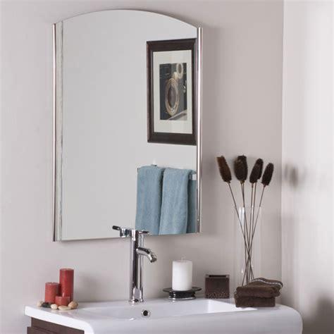 large round frameless bathroom mirror dcg stores super modern frameless wall mirror dcg stores
