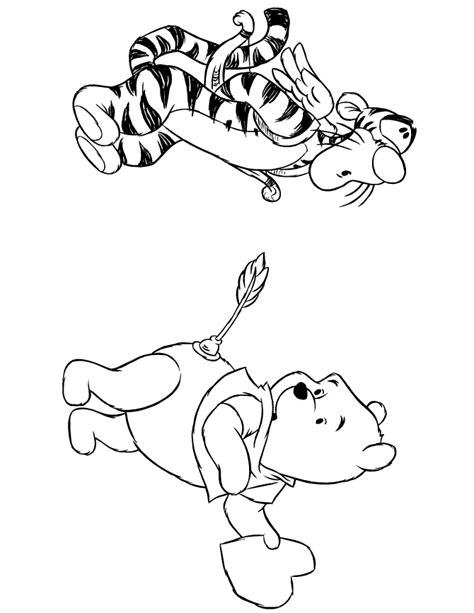 winnie the pooh valentines day coloring pages coloring home