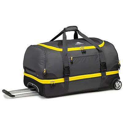 high sierra sport  duffel large travel wheeled day bag