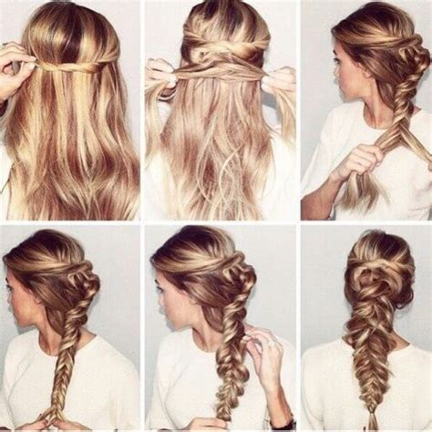 30 step by step hairstyles for long hair tutorials you will love hair style braid step by step www pixshark com images