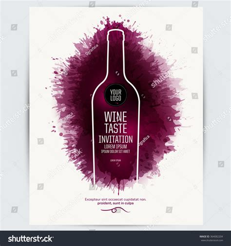 wine invitation template design template list wine tasting or invitation