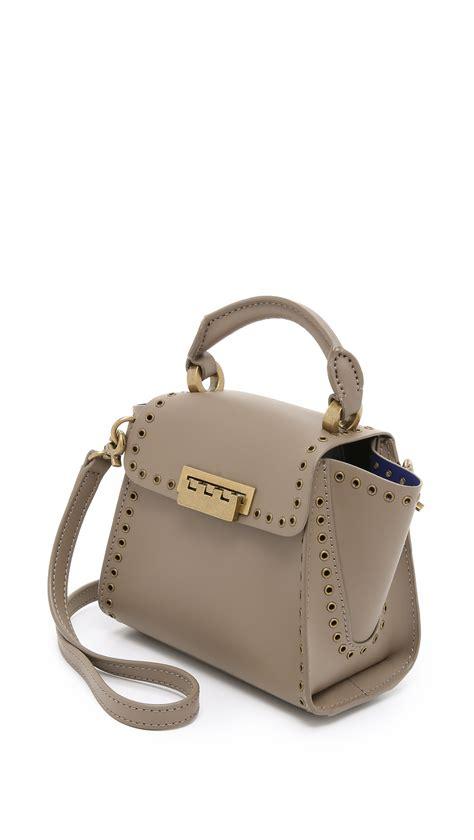 Zac Posens Satchel Handbag Is Way Better In Than Black by Lyst Zac Zac Posen Eartha Top Handle Mini Cross Bag