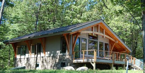 A Frame Cabin Designs by Bristol Mountain Cabin Timber Frame Case Study