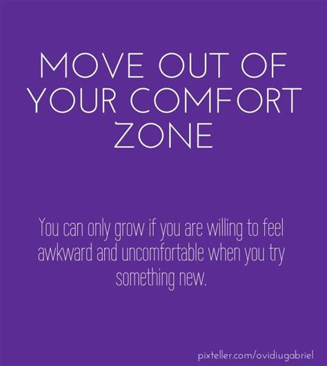moving out of your comfort zone quotes pin by pixteller com on quotes and good words pinterest