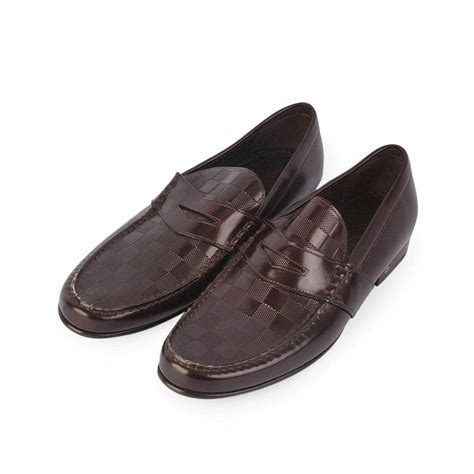 louis vuitton brown loafers louis vuitton graduation loafers brown s 42 8 new