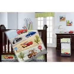 Cars Crib Bedding Set Disney Cars Jr Junction 5 Crib Bedding Set Brand New Ebay