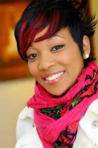 Galerry red hairstyles for black women