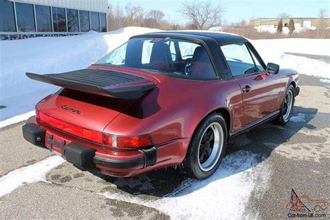 porsche velvet 1989 porsche 911 targa g50 velvet 86 075 no