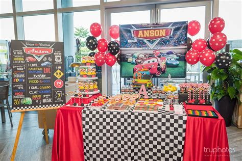 themed birthday party singapore stunning cars theme birthday party dessert table by one