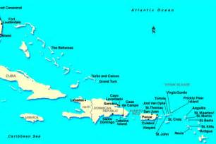 map of eastern us and caribbean caribbean cruise destinations which islands are where
