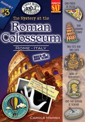 the mystery at the roman colosseum rome italy by carole marsh nook book ebook barnes