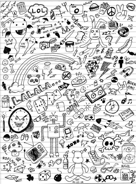 how to doodle in class class doodles by katmcgeer on deviantart