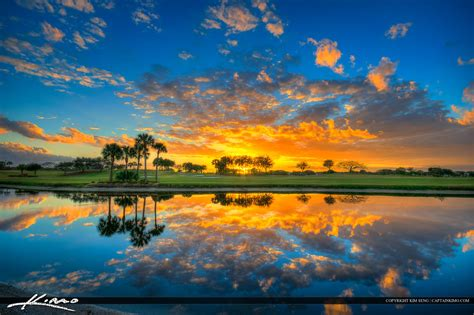 sunset course at country club abacoa golf course sunset jupiter florida