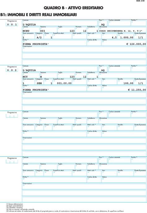 modello testamento olografo pdf vediamo come fare per compilare il modello 4 per successione