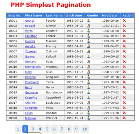 tutorial php pagination php simplest pagination script with jquery techzoo