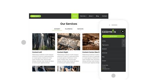 bootstrap umbraco themes umbraco cms starter kit with bootstrap theme handyman by