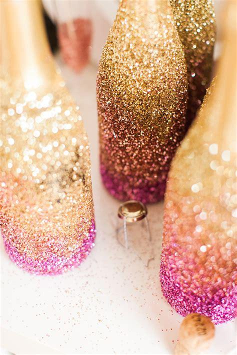 Home Decor Sheffield diy glitter champagne bottles for awards night