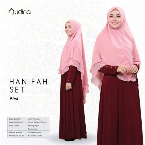 hanifah dress original audina hanifah dress ori by audina gamis saja maroon pusat