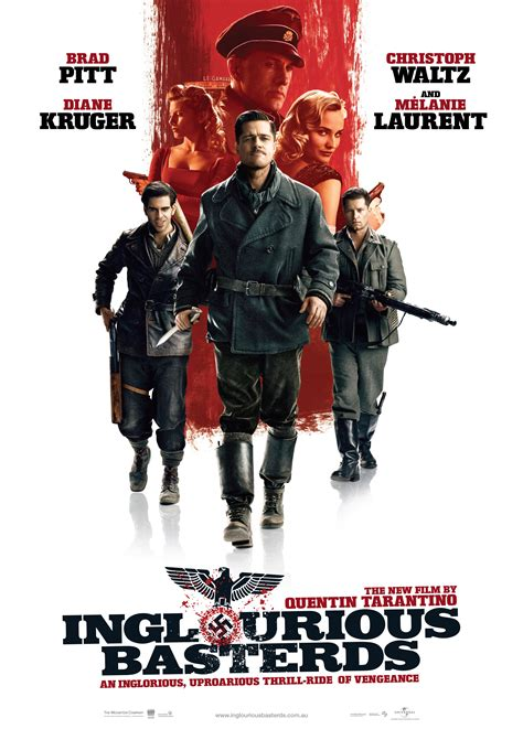 quentin tarantino film titles inglourious basterds 2009 the girl that loved to review