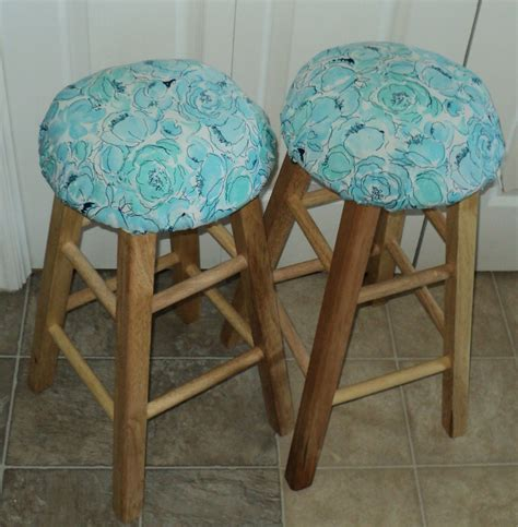 Bar Stool Seat Covers Sewing Our Together Bar Stool Seat Covers