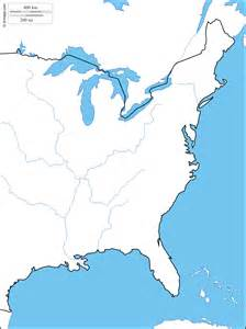 eastern united states blank map blank map of eastern united states