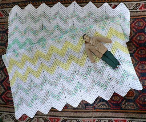Crochet Ripple Baby Blanket Pattern by Doll Blanket Crochet Patterns Crochet And Knitting Patterns