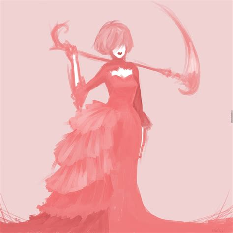 pink is my favorite color pink is my favorite color and i got a scythe by