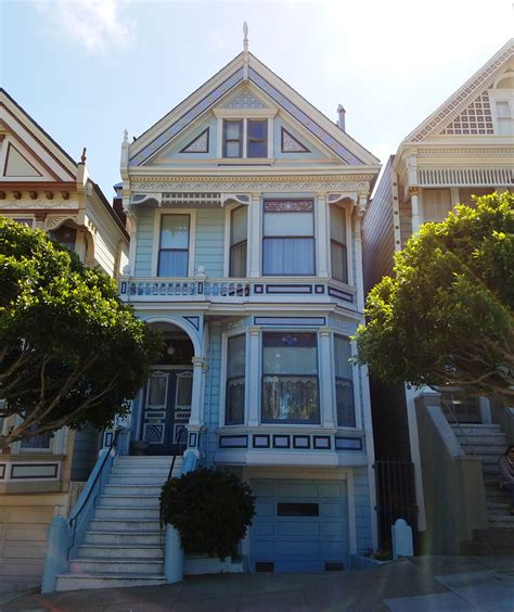 full house painted ladies running along the painted ladies in san francisco bag at you