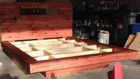 How To Build A Floating Bed by Floating Bed With Led Lighting How To Build Yourself