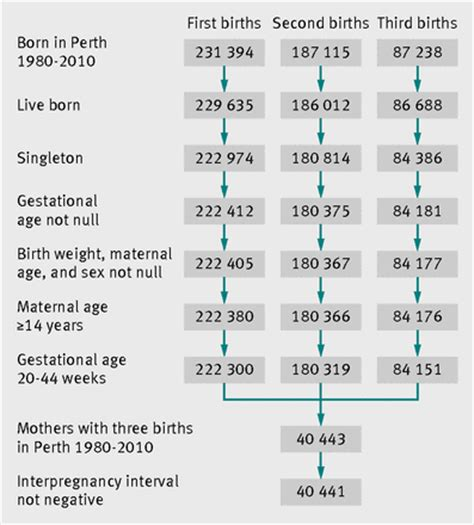 full birth certificate perth re evaluation of link between interpregnancy interval and