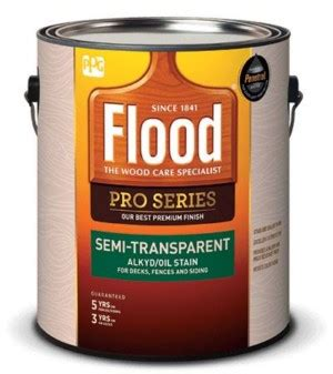 flood pro series semi transparent alkydoil stain ppg