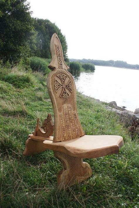 viking carving wikinger schnitzerei und moebel wood