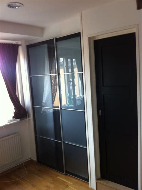 how to install ikea sliding wardrobe doors ikea sliding door for sleeping alcove tight spaces ikea