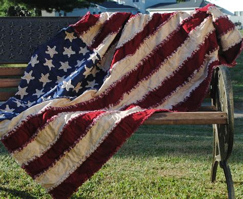 quilt pattern for american flag american flag rag quilt