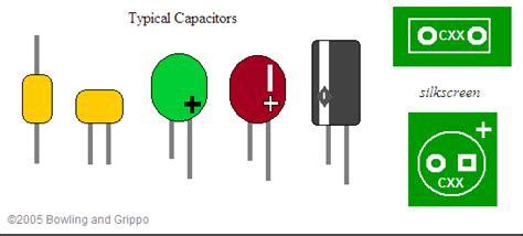 capacitor polarity circuit board marking any circuit board capacitor polarity experts here i a question ar15