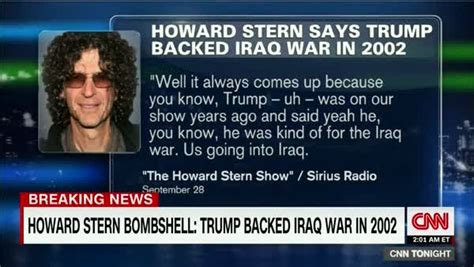 media madness donald the press and the war the books howard confirms donald supported iraq war