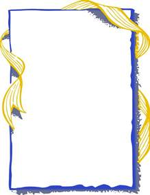 gold ribbon border clip art pictures to pin on pinterest
