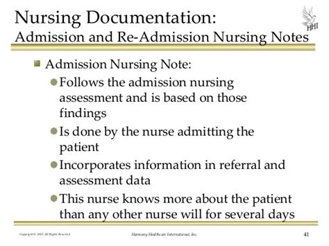 Admission Note To Detox Level Of Care by Nursing Documentation Do Your Records Support