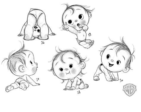 baby doodle drawings marnat for storks pinteres