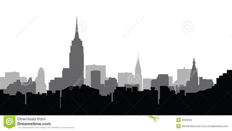 City Outline Vector by 13 City Skyline Outline Vector Images New York City Skyline Silhouette City Skyline
