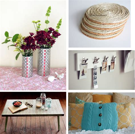 Crafty Home Decor Ideas by Easy To Make Home Decor Easy Home Decorating Ideas