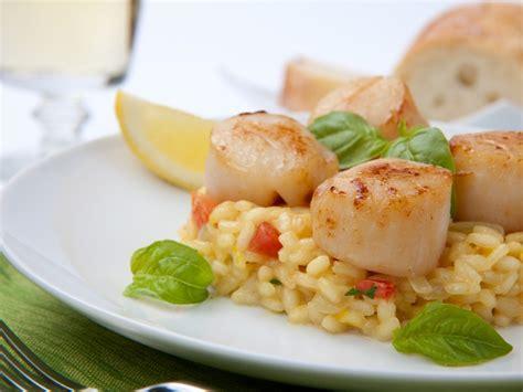 come cucinare capesante ricetta risotto con capesante