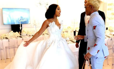House Plan Ideas South Africa by Inside Minnie Dlamini S Star Studded White Wedding All 4