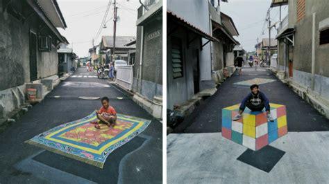 kampung   depok mendadak viral  foto foto kerennya