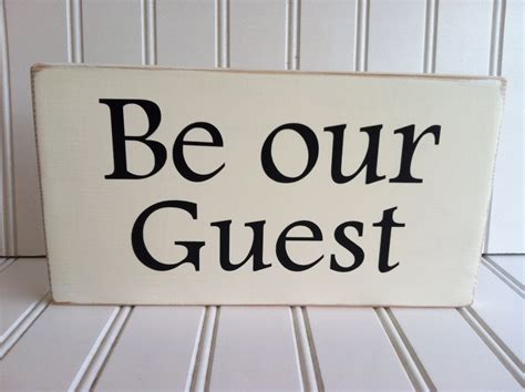 Be Our Guest by Be Our Guest Wood Sign By Clarksvilleworkshop On Etsy
