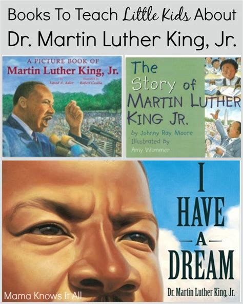books to teach children about dr martin luther king jr