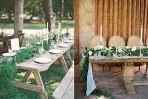 comment cr 233 er une table de mariage ambiance nature la