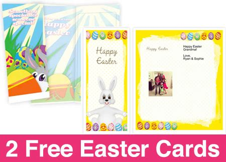 hot free customized easter cards free shipping