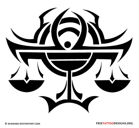 libra tribal tattoo gallery libra unique libra symbol tattoos